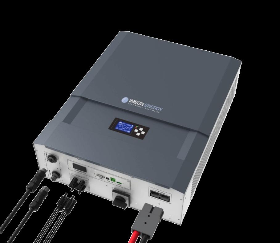 IMEON ENERGY - solar hybrid wechselrichter