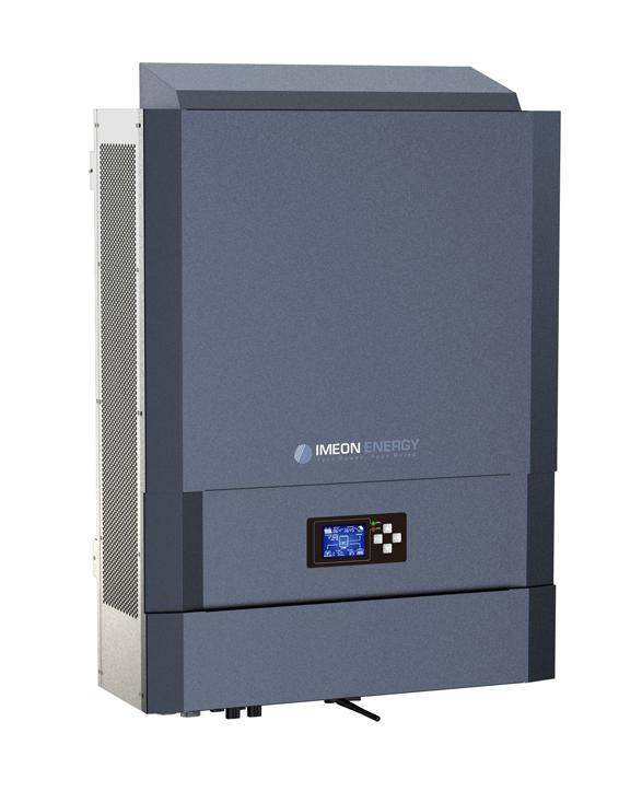 IMEON ENERGY - dreiphasen hybrid solar wechselrichter IMEON 9.12