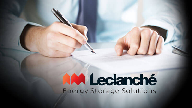 IMEON ENERGY signs a partnership agreement with LECLANCHÉ