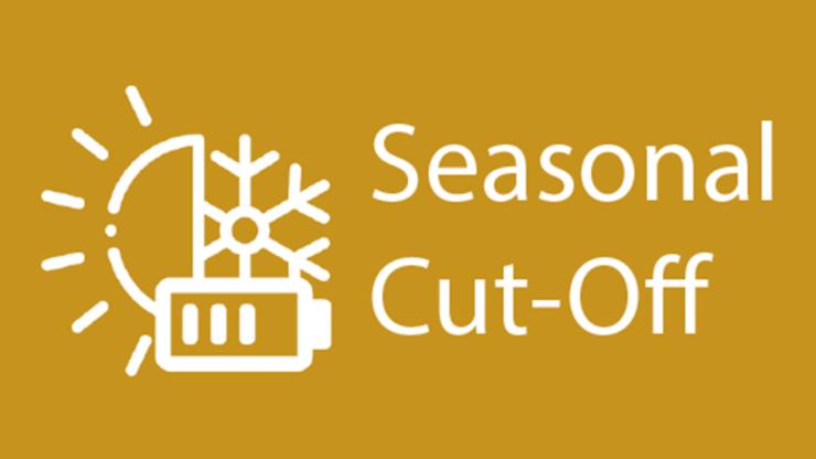 imeon application seasonal cutoff